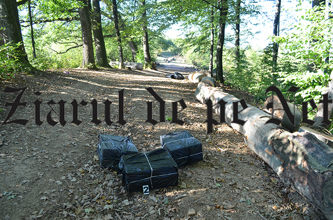 Contrabandă de țigări cu moto-deltaplanul, la Vicovu de Sus