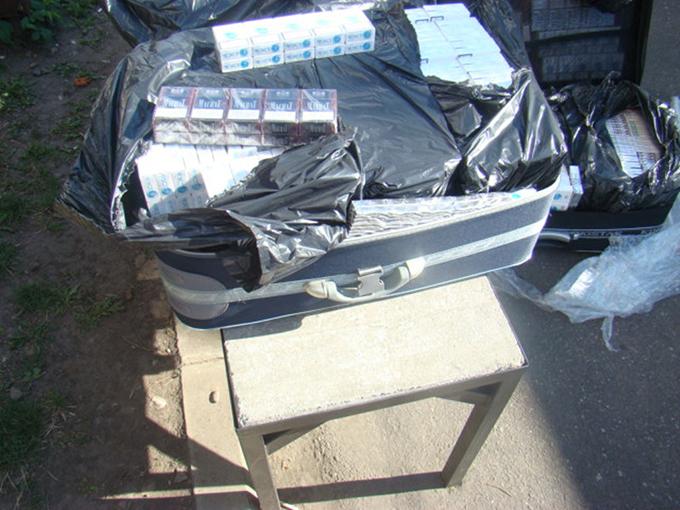 Contrabandă de țigări cu autocarul, la Siret