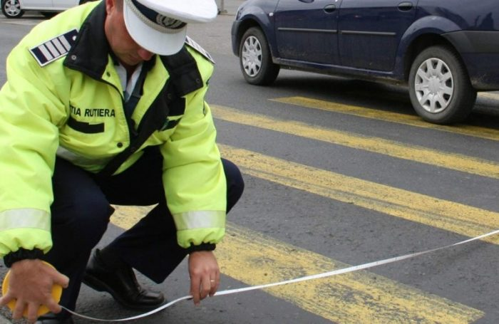 Minoră lovită de autoturism pe trecerea de pietoni, la Suceava