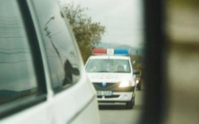 Șofer băut urmărit de polițiști la Siret