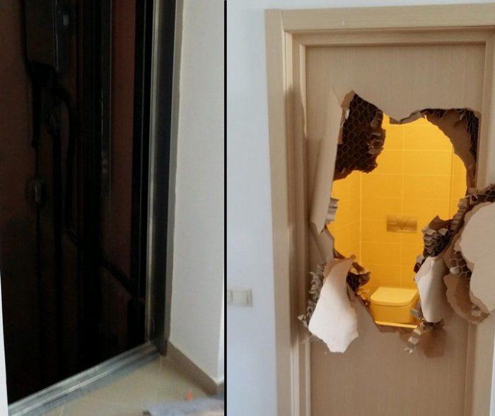 Un bărbat aflat în carantină a spart ușa palierului și a ieșit din pensiune deoarece nu i s-a permis să primească un pachet de la fratele său. Procurorii i-au întomit dosar penal pentruzădărnicirea combaterii bolilor