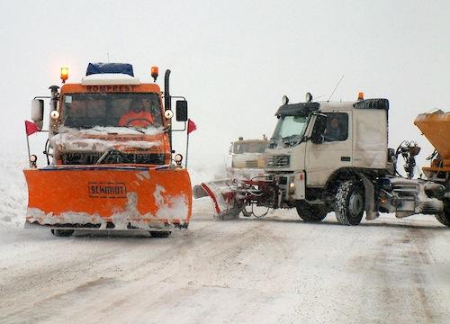 21 de utilaje de drumurile naționale din județul Suceava, la prima ninsoare
