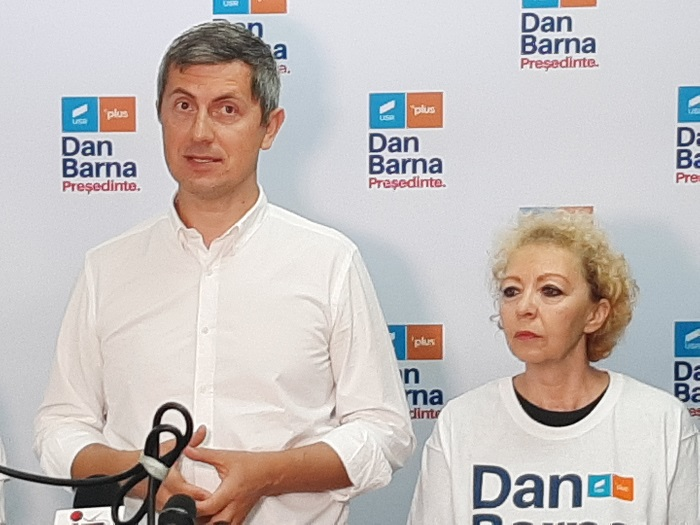 """Barna la Suceava: """"Statul începe să se prăbușească sub nepotism și clientelism, aș vrea să cred că nu este un blat între PSD și PNL"""""""